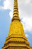 thailand w świątynnym abstrakta i kolorów religii mosa Fotografia Stock