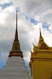 thailand w Bangkok deszczu abstrakta krzyża religii mosa Zdjęcie Stock