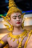 Thailand Warrior. A Warrior statue in Bangkok Thailand Royalty Free Stock Photo