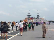 Thailand warships Royalty Free Stock Photo