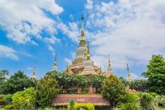 thailand wat Arkivbild