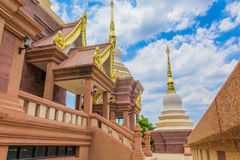 thailand wat Royaltyfri Foto