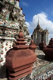 Thailand Wat Arun Sculpture Stock Photography