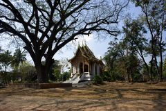 Thailand Wat Jed Yod in Chiang Mai Royalty Free Stock Images