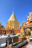 Thailand Wat Phra That Doi Suthep in Chiang Mai Stock Photos