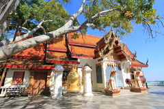 Thailand Wat Phra That Doi Suthep in Chiang Mai Royalty Free Stock Photo