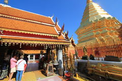 Thailand Wat Phra That Doi Suthep in Chiang Mai Stock Image