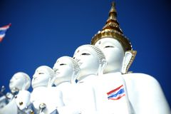 Thailand. Wat pra that pa sonkeaw Stock Photo