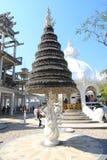 Thailand Wat Rong Khun, White Temple Stock Photos