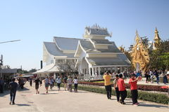 Thailand Wat Suan Dok in Chiang Mai Stock Afbeelding