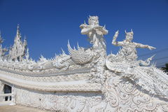 Thailand Wat Suan Dok in Chiang Mai Royalty-vrije Stock Foto