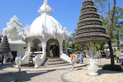 Thailand Wat Suan Dok in Chiang Mai Royalty Free Stock Photography