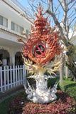 Thailand Wat Suan Dok i Chiang Mai Royaltyfria Bilder