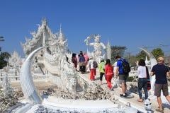 Thailand Wat Suan Dok i Chiang Mai Arkivbilder