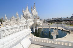 Thailand Wat Suan Dok i Chiang Mai Arkivfoto