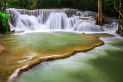 Thailand waterfall in Kanjanaburi Stock Images