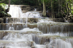 Thailand waterfalls flowing Stock Photography