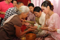 Thailand Wedding Royalty Free Stock Photography