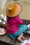 Thailand women selling in market Royalty Free Stock Image