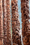 Thailand wood carving Royalty Free Stock Image