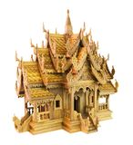 Thailand wood toy house Royalty Free Stock Photos