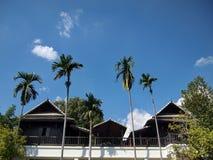 Thailand wooden house, garden Thailand, Thailand pavilion Royalty Free Stock Photo