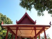 Thailand wooden house, garden Thailand, Thailand pavilion Stock Photos