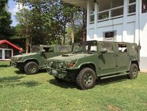 Thailand's army truck Stock Images