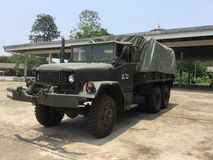 Thailand's army truck Stock Photo