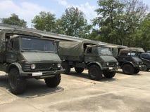 Thailand's army truck Stock Photos