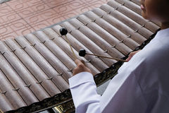 Thailand xylofon Royaltyfria Bilder