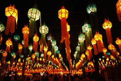 Thailand, yi peng festival Stock Afbeelding
