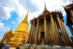 Thailands全部宫殿 免版税库存图片