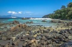 Thailands海滩 库存照片