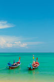 Thailands long tailed boat Stock Photography