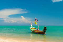 Thailands long tailed boat Royalty Free Stock Photos