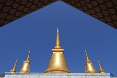 Thailiand arkitektur Arkivbild