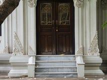 Thailändischer Art Decorated Entrance Lizenzfreie Stockfotografie