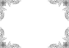 Thailändisches Pattern22 Lizenzfreies Stockbild