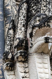 Thailändsk forntida konst i forntida tempel. Royaltyfri Fotografi