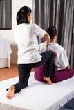 Thailändsk massage Royaltyfri Fotografi
