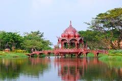 Thailändsk paviljong Fotografering för Bildbyråer