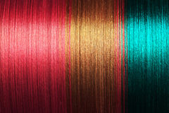 Thailändskt silke Fotografering för Bildbyråer