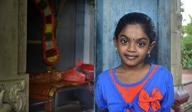 Thaipusam的孩子-印地安人Holyday 库存照片