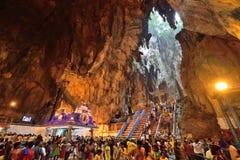 Thaipusam στις σπηλιές Batu, Selangor, Μαλαισία Στοκ Εικόνα