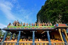 Thaipusam στις σπηλιές Batu, Selangor, Μαλαισία Στοκ Φωτογραφίες