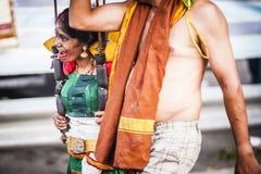 Thaipusam stockbild