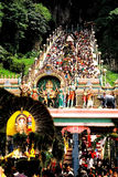 Thaipusam at Batu Caves Royalty Free Stock Photo