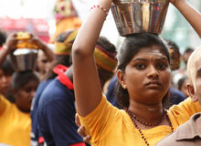 Thaipusam celebration Stock Photo