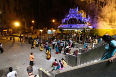 Thaipusam celebrations Royalty Free Stock Photos